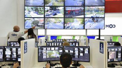 La Plata / Garro inauguró un nuevo y moderno Centro de Operaciones y Monitoreo
