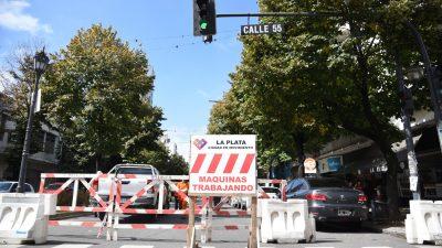 La Plata / Mirá cuales son las calles cortadas por obra en la ciudad