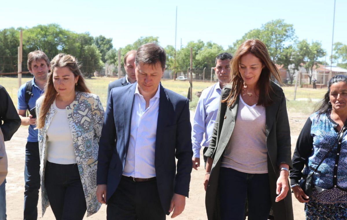 Villarino / Bevilacqua se reunió con Vidal y le reprochó la suspensión de la obra del Acueducto del Río Colorado