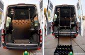 Hipólito Yrigoyen compró un vehículo adaptado para personas con movilidad reducida