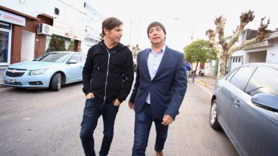 Kicillof con criticas a Vidal continúa recorriendo la provincia y visitó los distritos de Daireaux y Tres Lomas