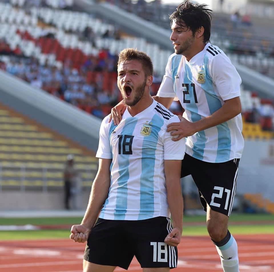 Juan Krilanovich el joven peronense del sub 17 amante de Lionel Messi