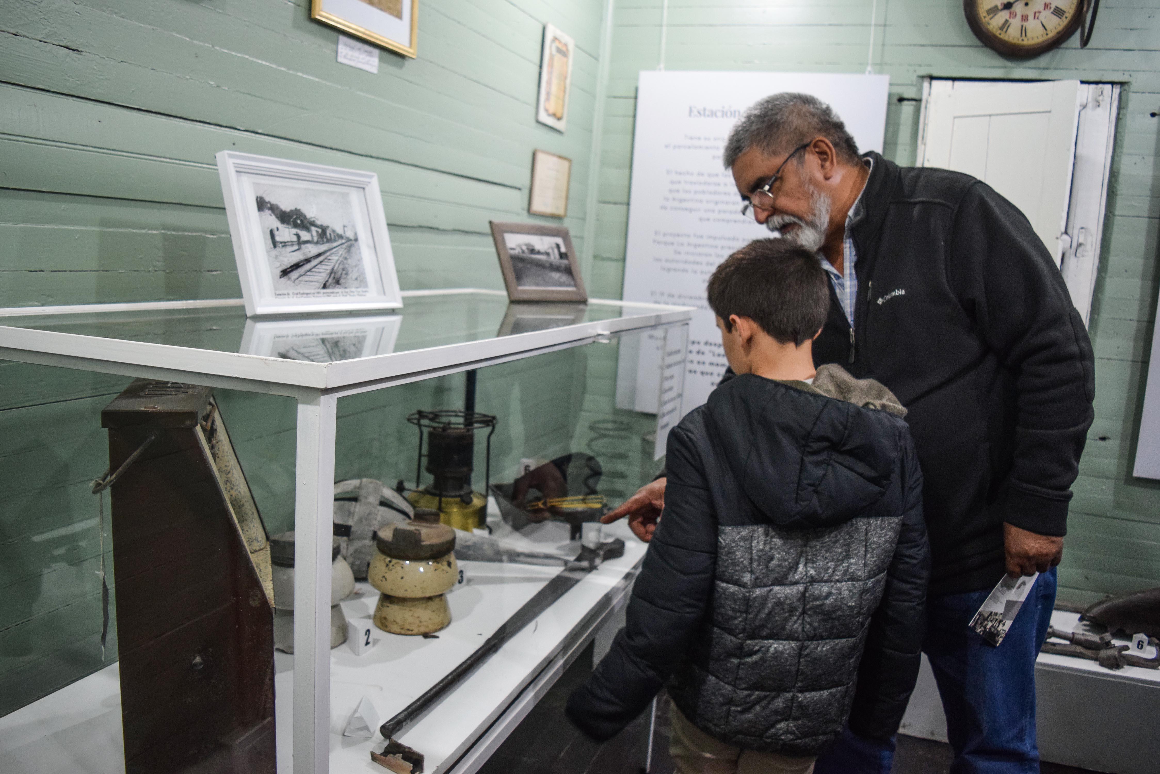 Inauguraron la Estación Museo de General Rodríguez