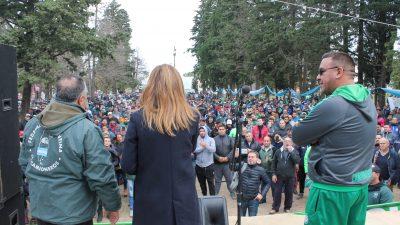 Camioneros La Plata organizó una olla popular y ratificó su apoyo a la candidatura de Tolosa Paz