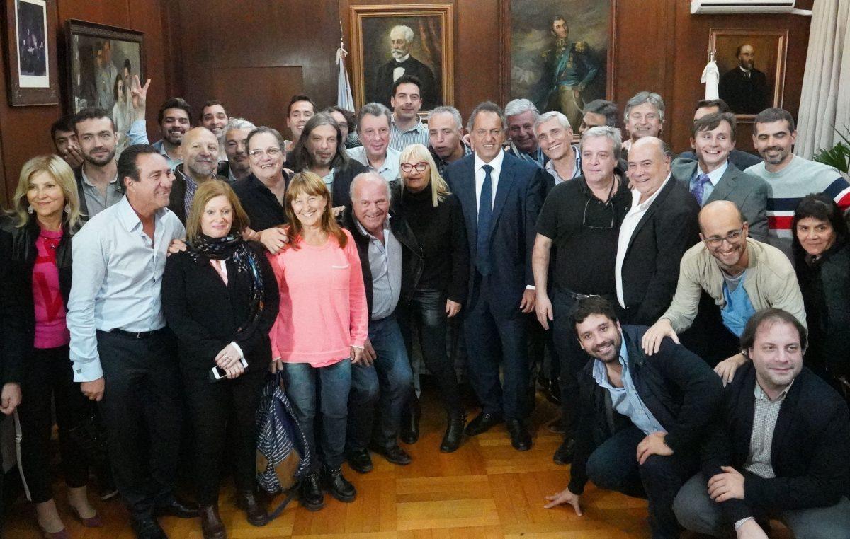 """Scioli quiere volver:  """"Si cristina es candidata voy a ir en contra de ella"""""""