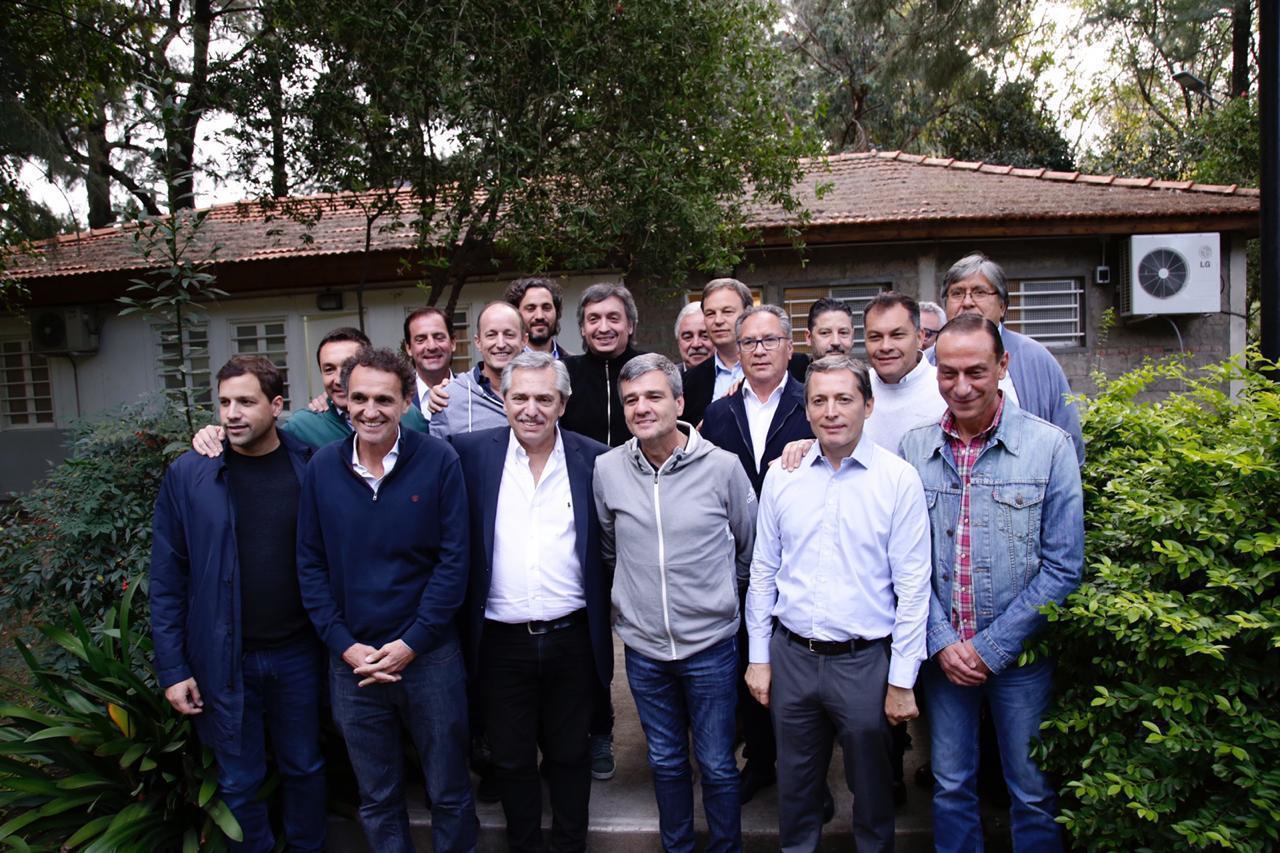El día previo al anuncio, Alberto Fernández se reunió con Insaurralde