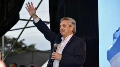 Alberto abre los brazos y tira halagos para Manes, Nielsen y Ginés González García