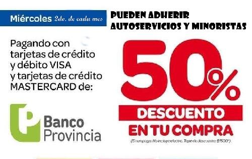 """Mirá los supermercados adheridos a la Promo """"Súper Ahorro"""" del Banco Provincia"""