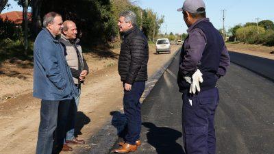 Pergamino / Martínez apuesta a la urbanización e invierte 32 millones pesos pavimentando más de 20 cuadras en la ciudad