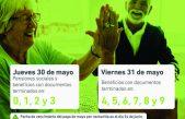IPS informó que a partir de mañana los jubilados y pensionados de la provincia cobrarán los haberes de Mayo