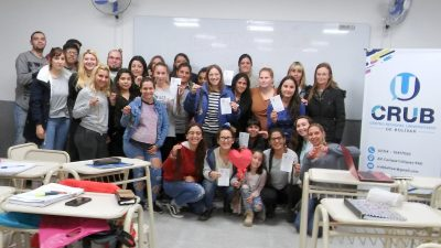 Bolívar / Estudiantes de enfermería se sumaron a la colecta pelucas solidarias