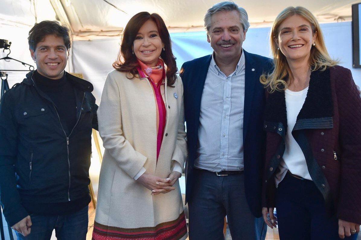 """Insaurralde confirmó la fórmula del kirchnerismo en Provincia: """"Felicitaciones Kicillof y Magario"""""""