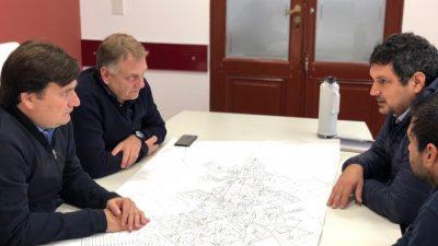 Kubar anunció el inminente comienzo de la obra de reparación y construcción de dársenas en la Ruta Provincial N°7
