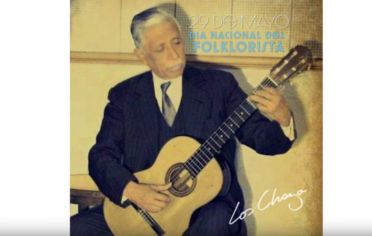 29 de Mayo: Día Nacional del Folklorista en honor al gran Andrés Chazarreta