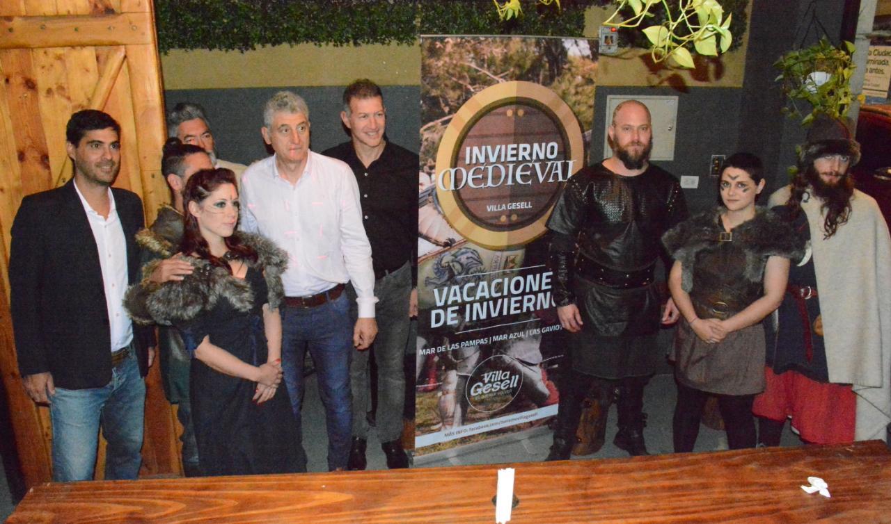 """Villa Gesell presentó en Buenos Aires """"Invierno Medieval"""" de cara a las vacaciones de julio"""