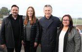 """""""Real como el cemento"""": Macri y Vidal inauguraron 8 kilómetros de Autopista en Chacabuco"""