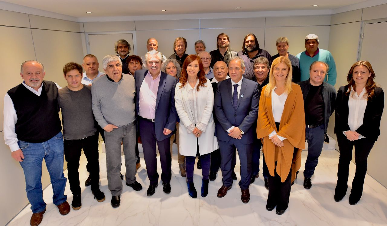 Respaldo del Frente Sindical y la CTA a la fórmula Fernández Fernández