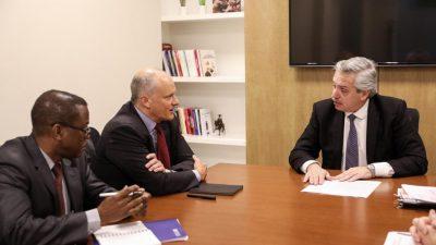 """Alberto Fernández se reunió con enviados del FMI pensando en """"reformular"""" los acuerdos"""