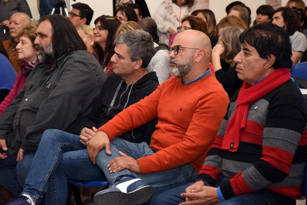 """Morón / """"Si trabajamos una propuesta de unidad se termina el gobierno de Tagliaferro"""", sentenció Barquero"""