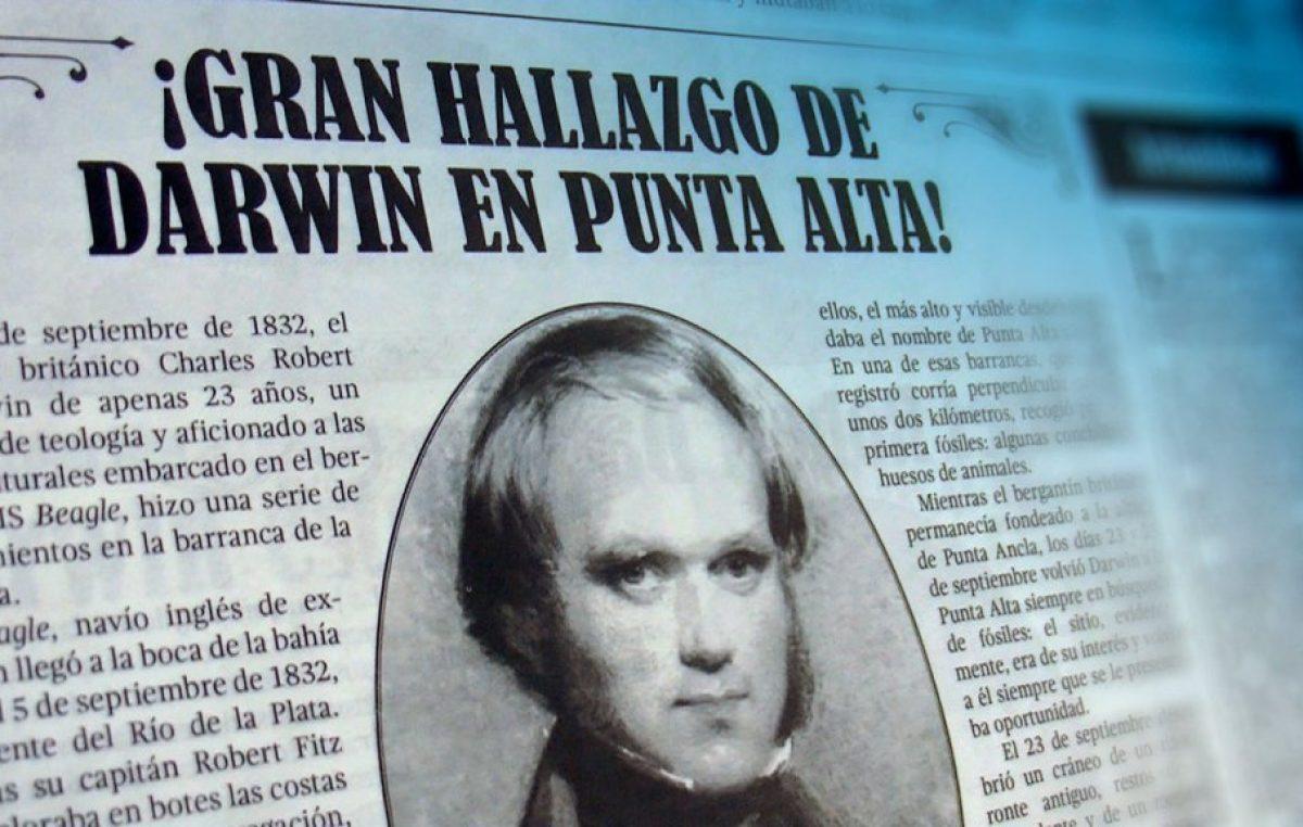 """La """"Ruta de Darwin"""": en Bahía comenzó una muestra itinerante sobre el paso del biólogo por la Provincia"""