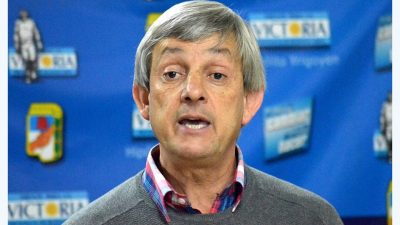Jorge Cortés recibió todo el apoyo para ir por su segundo mandato como intendente de Hipólito Yrigoyen