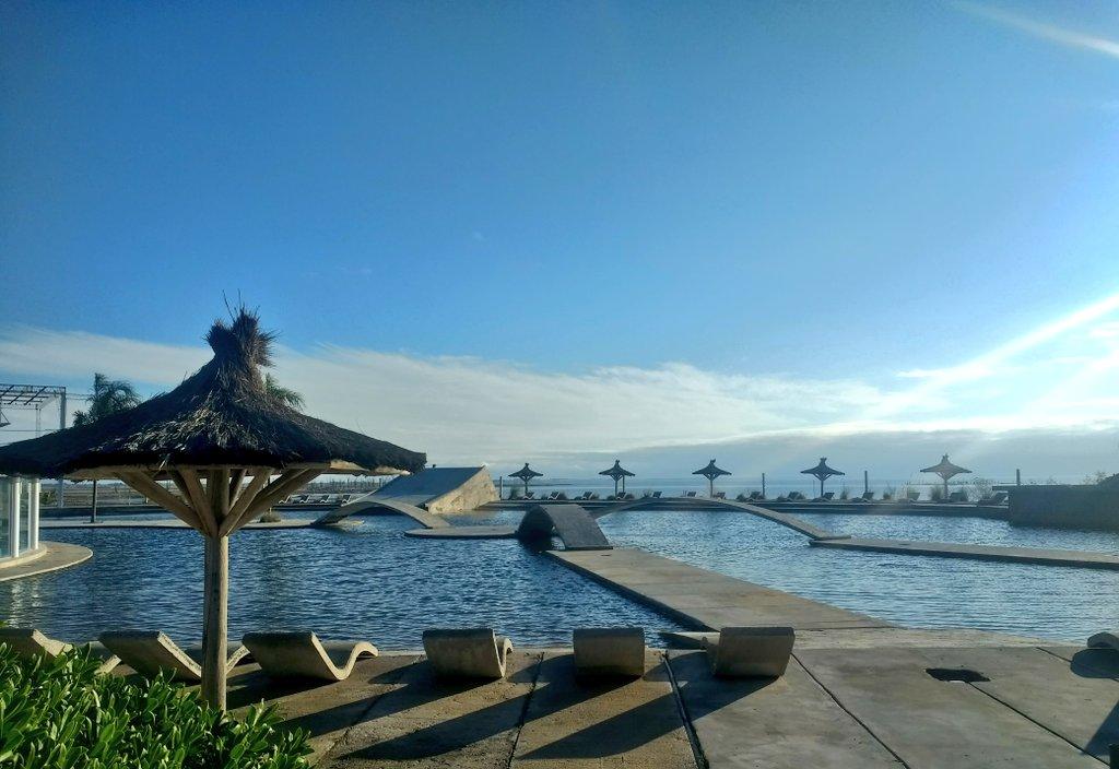 """Carhué inauguró el """"Parque Termal y Lúdico Mar de Epecuén"""" con aguas """"hipermineralizadas"""""""