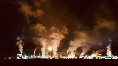 Una explosión en el Polo Petroquímico alarmó a miles de vecinos de Bahía Blanca