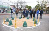 ¿Britos busca el Récord Guinness?: Chivilcoy inauguró una mini rotonda que generó una catarata de burlas