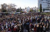 La Plata / Más de mil alumnos juraron a la bandera en Plaza Belgrano