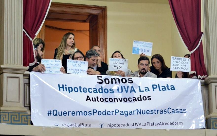 Desde Hipotecados UVA sostienen: Macri se va protegiendo a los bancos