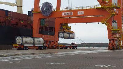 TecPlata suma nuevos clientes y se incrementa la actividad de la terminal portuaria más moderna del país