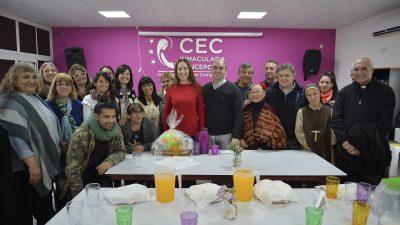 Vidal inauguró las refacciones de una Casa de Encuentro Comunitaria en San Nicolás