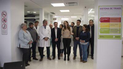Vidal inauguró la guardia de un Hospital en Vicente López