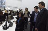 Massa subido a la campaña de Kicillof en provincia, inauguró un centro de monitoreo en Malvinas Argentinas