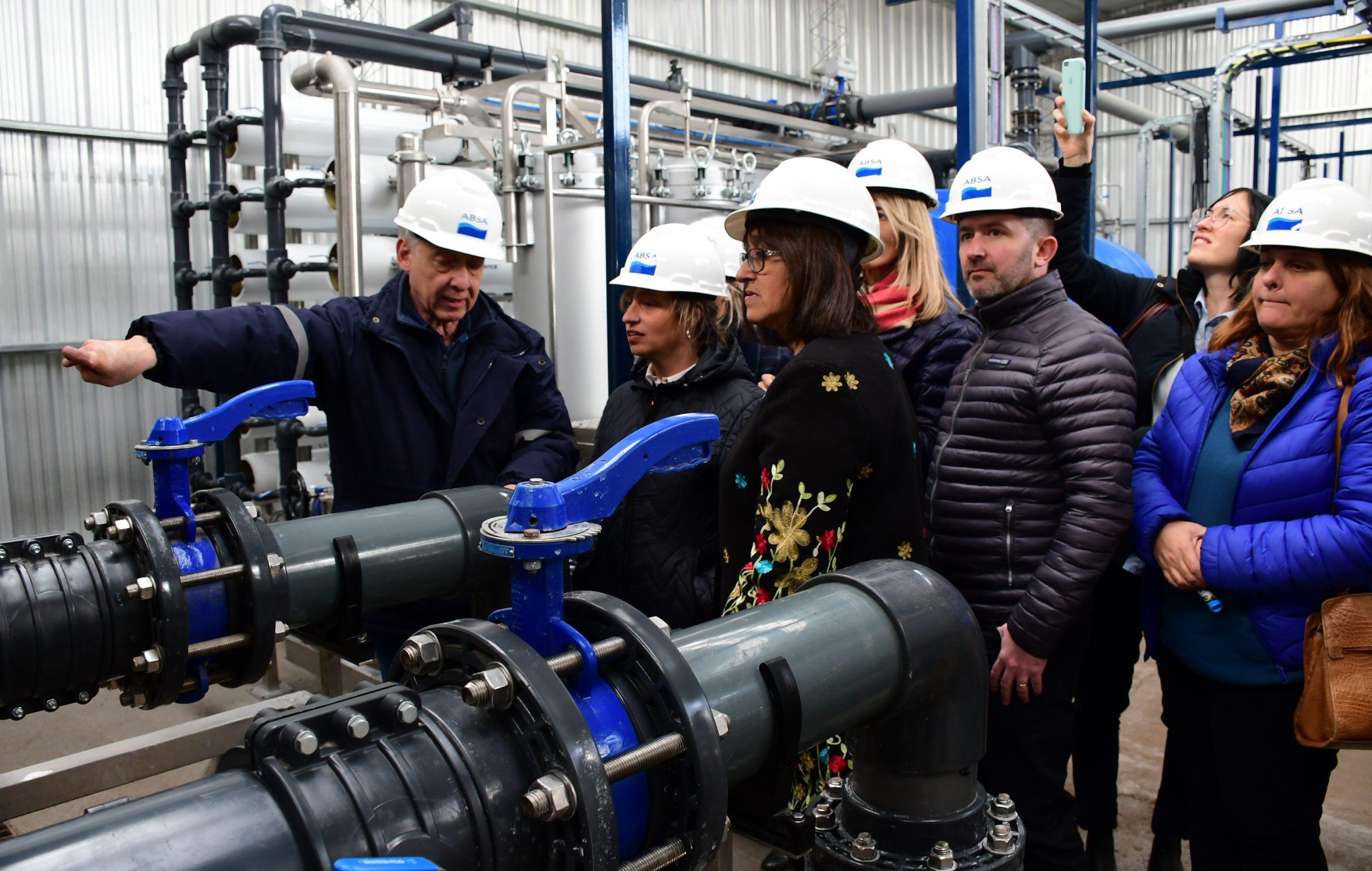ABSA se acordó que existen los pueblos de la provincia e inauguró una obra en Gral Villegas