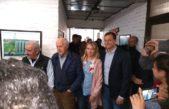 Lavagna y Bucca visitaron una Pyme platense con críticas al modelo de Macri
