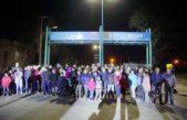 Bolívar / Pisano continúa presentando las nuevas led en diferentes puntos de la ciudad