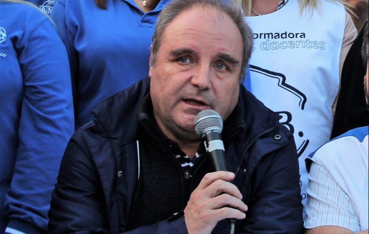 """""""Los chicos van a las escuelas envueltos en frazadas"""", alertó Miguel Díaz de UDOCBA"""