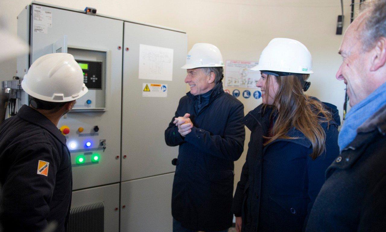 """Macri y Vidal recorrieron el sur bonaerense: """"El trabajo verdadero necesita energía"""""""