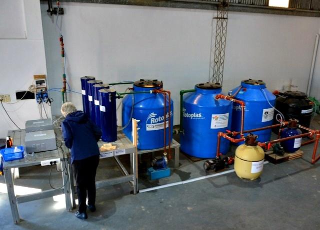 En Verónica instalaron una innovadora planta que logra remover el arsénico del agua a bajo costo
