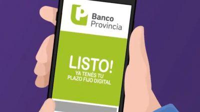 Banco Provincia te propone las mejores condiciones del mercado en plazos fijos y tasas