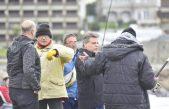 Mar del Plata / Gustavo Pulti recorrió la escollera y prometió la vuelta de los torneos de pesca
