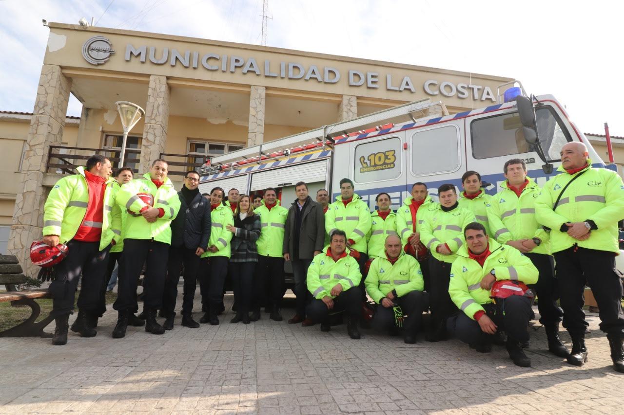 #LaCosta / Juan Pablo De Jesus sumó una flota de vehículos todo terreno para el área de Defensa Civil