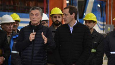 La Plata / Macri, Vidal y Garro inauguraron los talleres ferroviarios del tren Roca en el barrio donde se crío Cristina Kirchner