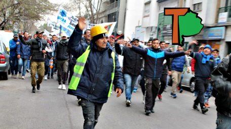 """Trabajadores de la construcción reclamaron la """"urgente normalización"""" de la UOCRA La Plata"""