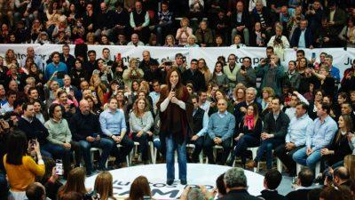 """Vidal lanzó su campaña en Junín y habló de la elección """"más importante desde la vuelta de la democracia"""""""