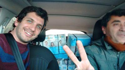 """Balcarce / Juan Pablo Vismara vaticinó su triunfo en octubre y dijo que Reino reparte boletas con Macri """"escondido"""""""