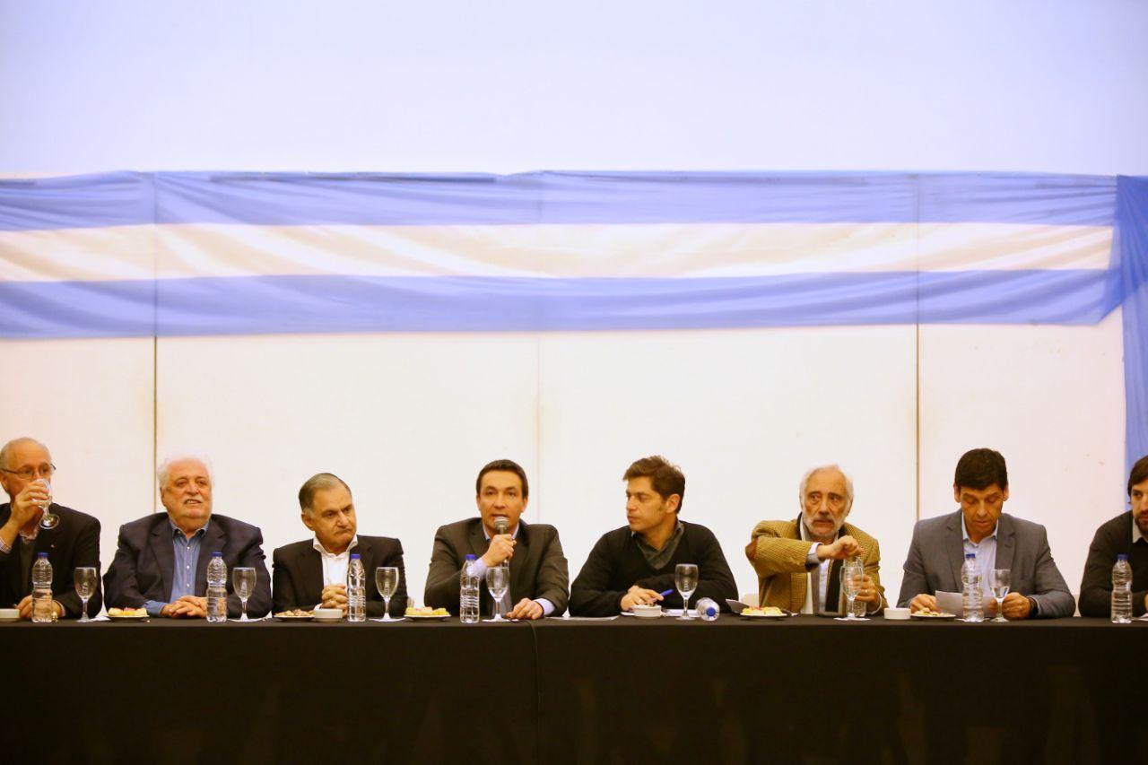 Kicillof en Florencio Varela habló sobre la salud en la provincia