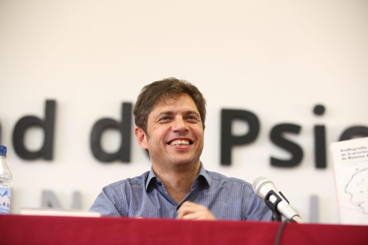 """""""El Frente de Todos tiene a esta Región entre sus prioridades"""", aseguró Axel Kicillof en La Plata"""