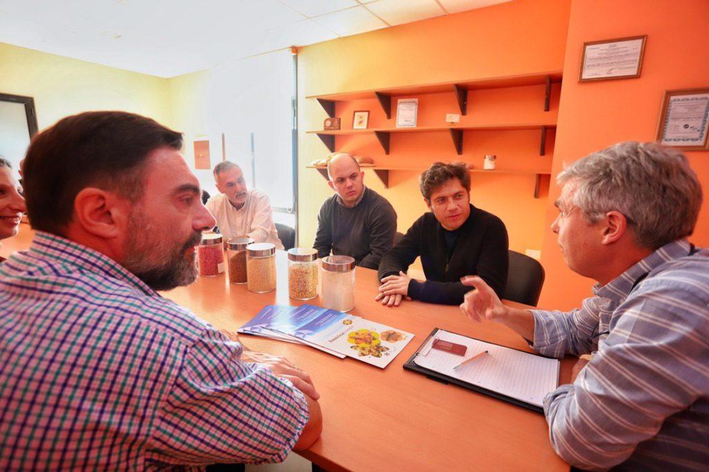 Kicillof y Policano en Rivadavia